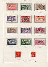 TIMBRES FRANCE. TYPE MERSON. OBLITERE.