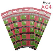 50PCS 5cards Ag4 377A Lr626 Sr626Sw Sr66 Lr66 Button Cell Watch Coin Battery