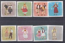 Albania 1967 Abiti tipici 1177-84 - Mnh