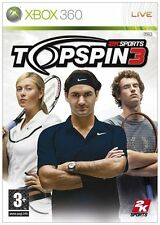 * XBOX 360 NEW TENNIS GAME * TOPSPIN 3 * TOP SPIN 3 *