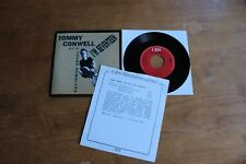"""Tommy Conwell And The Young Rumblers -  Holland 7"""" + Promo Infosheet (German) /"""