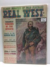 Real West Magazine : May 1967 Charlton (GD/VG) Bloody Monster of Palo Flechado
