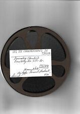 19?? FILM 16-mm LES DIX COMMANDEMENTS DU TIREUR- N & B-76.20M-SONORE