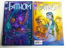 Top Cow FATHOM (1998) #2-3 Michael TURNER Lot FN to VF Ships FREE!