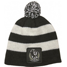 Collingwood Magpies Official AFL Baby Infant Beanie