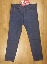 Levis Vintage LVC Blue Raw Rigid 1969 606 Zip Fly Tapered Jeans W40 £195 NEW USA
