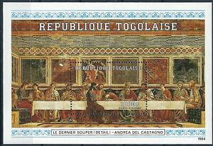 Togo - Zwölf Apostel Block 260 postfrisch 1984 Mi. 1835
