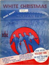 White Christmas, Holiday Inn, 1942  vintage sheet music