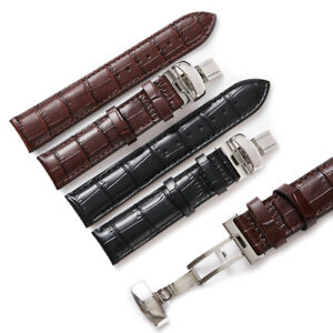 19-20-22mm Replacement Leather Watch Strap Band Made For OMEGA SEAMASTER