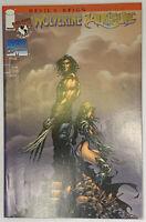 WOLVERINE/WITCHBLADE - GOLD FOIL VARIANT w/ COA - Image/Marvel 1997 LIMITED 5000