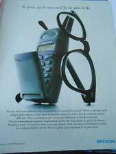Publicté Advertising 1997  Nouvel Ericsson GF 788