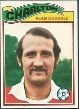 TOPPS 1978 FOOTBALLERS #289-CHARLTON ATHLETIC-COVENTRY CITY-ALAN DUGDALE