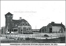Photo: Manasquan (Squan Beach) Lifesaving Station, 1915