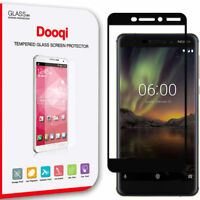 Dooqi Full Cover Tempered Glass Screen Protector For Nokia 6.1 (Nokia 6 2018)