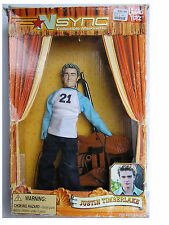 Living Toyz N Synk Collectible Marionette Justin Timberlake Doll In Original Box