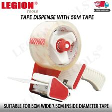 Packing Tape Dispenser Gun For 48-50mm Width Roll Stick Low Noise Tape Cutter