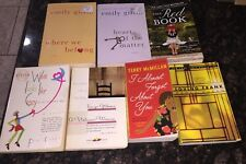 New York Times Best Seller Books Lot Of 7 Fiction Novels National Best Sellers