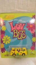 Johnny Lightning Luv Bus '60's VW Van Yellow 1 of 5,000 Yellow Wheels