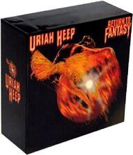 "URIAH HEEP "" Return To Fantasy "" Promo empty Box Japan Mini LP CD"