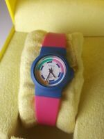 Armitron Womens Pink And Blue Watch. Nice