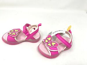 Girls Toddlers Carters (CS180351) Birdy Pink sandals 457A