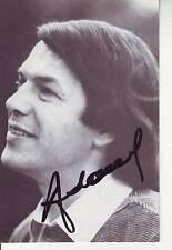 CARTE POSTALE ADAMO signée