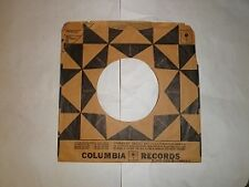 Columbia record sleeves (black triangles)155
