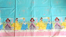"""DISNEY PRINCESS FAIRY TALES   1-PLASTIC TABLECOVER 54""""x102""""  PARTY SUPPLIES"""