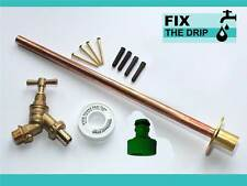 Garden Tap Kit Comes With Through Wall Mounting Flange And Accessories [1378]