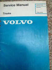 VOLVO TRUCK GEARBOX MANUAL  T700  ZF 6 SPEED