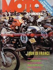 MOTO JOURNAL  170 HONDA CB 125 JX NOGARO DUCATI Tour de France BARCELONE 1974