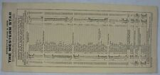 Vintage June 8 1958 Western Star Railroad Time Table