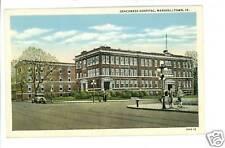 MARSHALLTOWN IA IOWA DEACONESS HOSPITAL POSTCARD