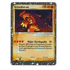 GROUDON EX 002 Ultra Rare Star Promo Holo Foil Card!
