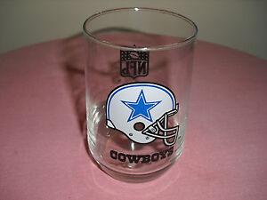 NFL  DALLAS Cowboys COLLECTIBLE Tumbler / Glass