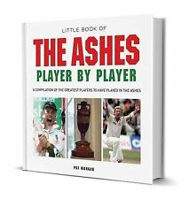 Little Book of Ashes Player by Player, New, Pat Morgan Book