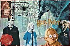 """Luna"" Harry Potter Stamps FDC on 4x6 Postcards Easily Framed Orlando 11/19"