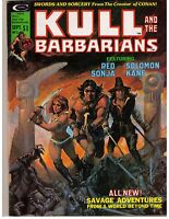 Kull and the Barbarians # 3 (1975) F+ Marvel Curtis Magazine