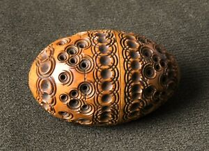 c1870 Coquilla 'egg' Pomander