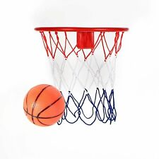 8-Inch Over The Door Basketball Hoop - With mini Ball Set Or On The Wall