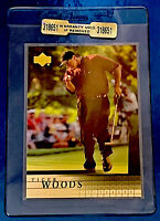 2001 Upper Deck #1 Tiger Woods RC Beckett Or PSA Ready Mint To Near Mint