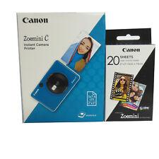 CANON Zoemini C Sofortbildkamera seaside blue mit Film  * Fotofachhändler *