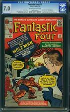 FANTASTIC FOUR # 22  US MARVEL 1963  Jack Kirby     CGC 7.0 FN-VFN