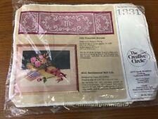 New 1986 The Creative Circle Festive Victorian Accents Runner Kit 1331 Sealed