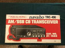 Realistic Trc-490 Navajo Cb Set
