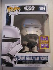 STAR WARS Combat Assault Tank Trooper Funko Pop (#211) Summer Convention excl.