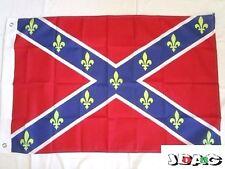 DRAPEAU FLAG ROYALE SUDISTE FLEUR DE LYS 60 X 90 CM BANNER 3 X 2