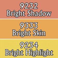 Reaper Master Series Acrylic Paint Triad 09778 Bright Skintones