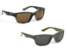 New Fox Chunk Polarised Sunglasses Camo Brown / Khaki Grey / Tortoise - Fishing