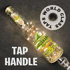 lit lighted LANDSHARK beer TAP HANDLE draft MARKER KEG bottle TAPPER ocean BEACH